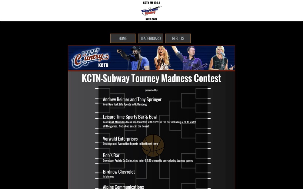 comm2 march madness bracket manager
